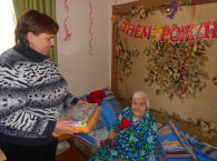 Подробнее: 100 летний юбилей жительницы дома-интерната